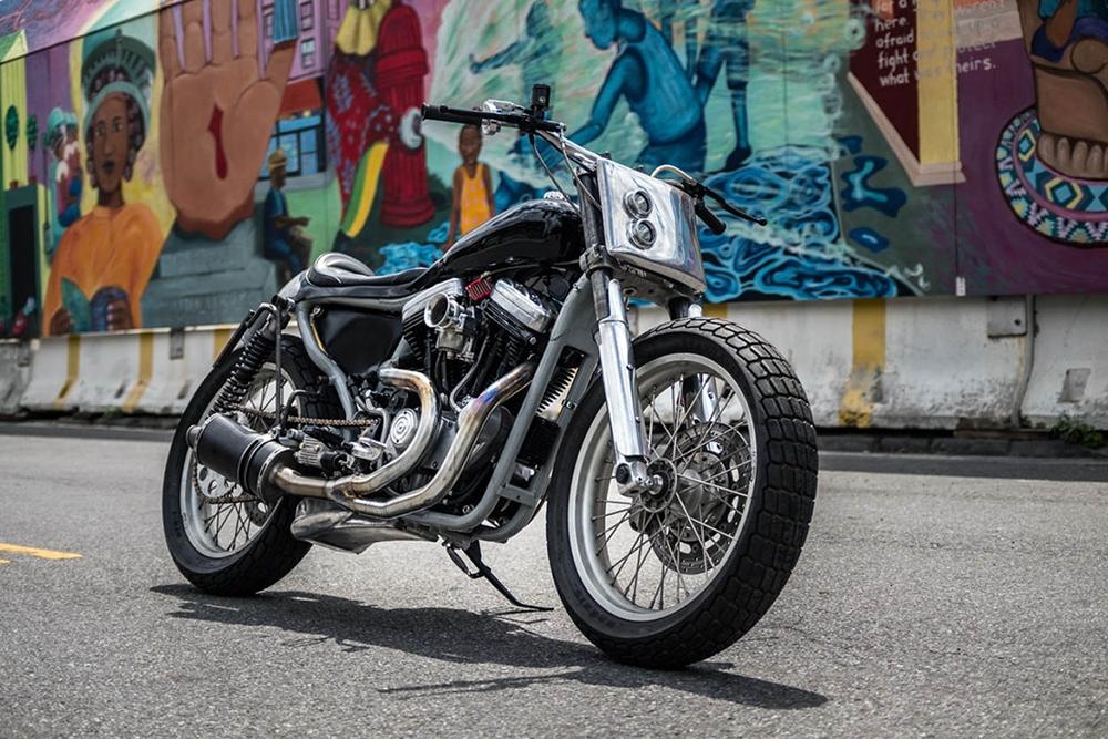 Tim Harney Motorcycles: кастом Harley-Davidson Sportster