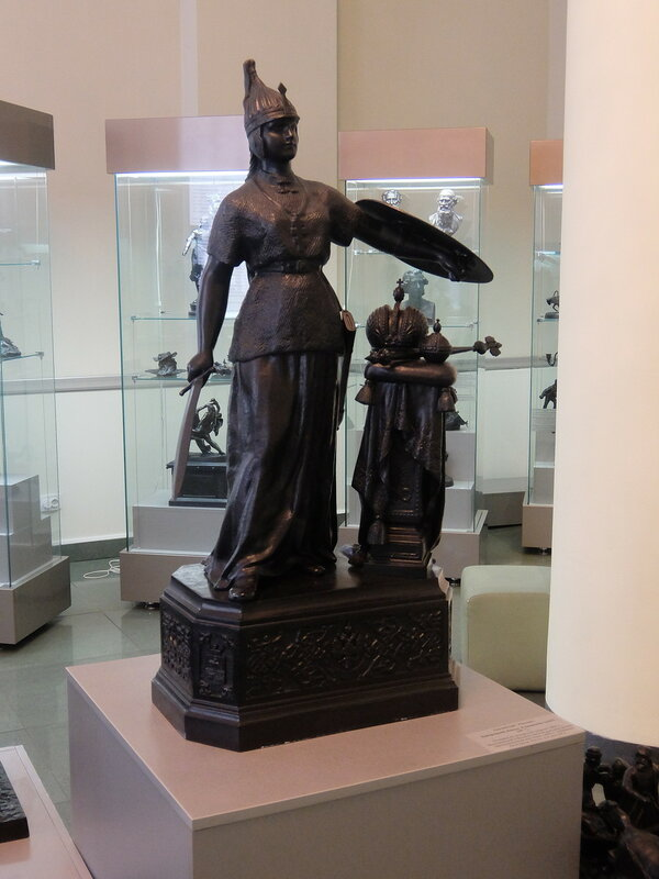 Челябинск - Скульптура Родина