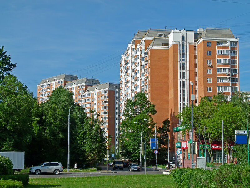 Улица богданова в Солнцево