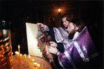 Вынос Креста в праздник Крестовоздвижения.