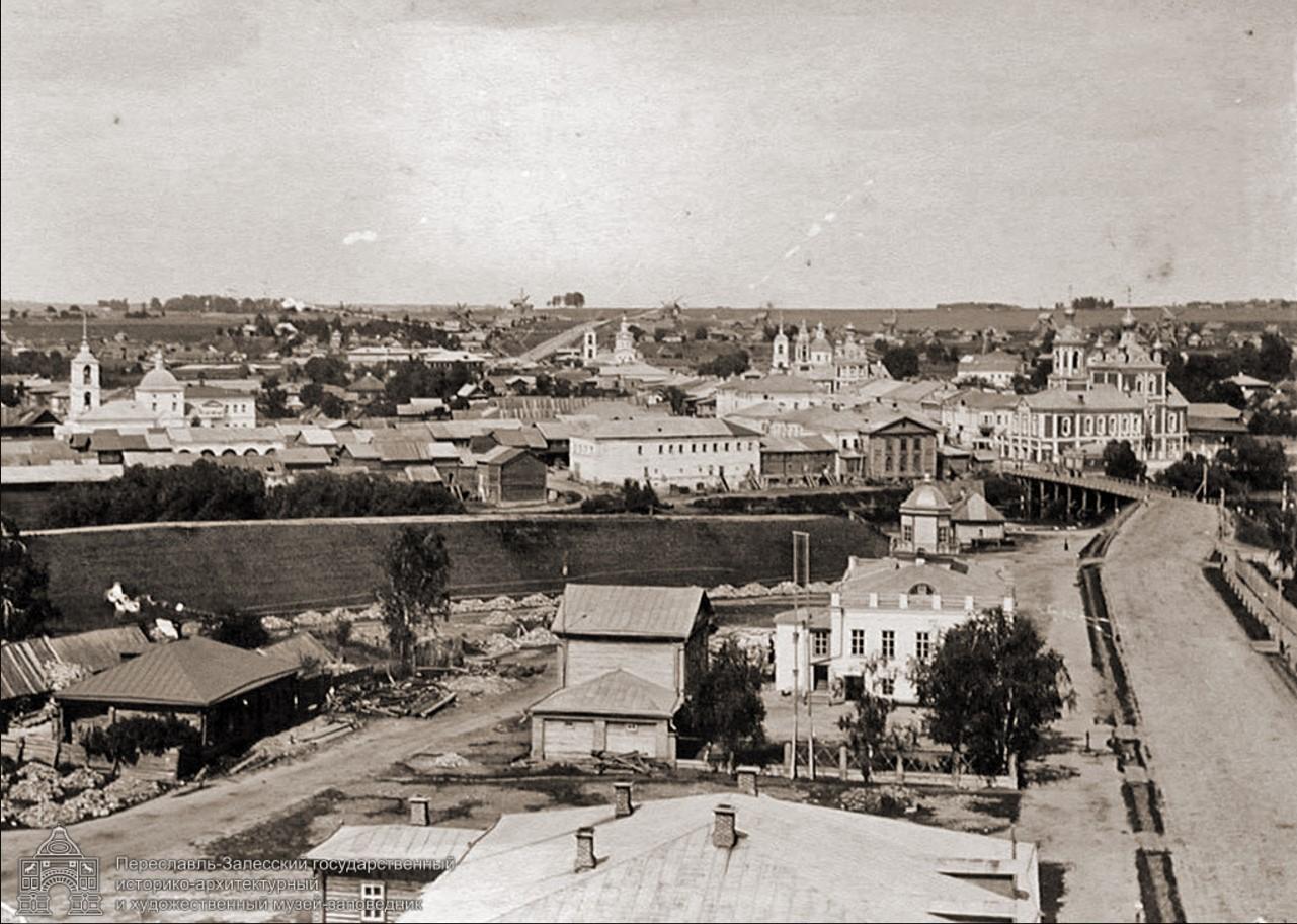 Общий вид северной части города