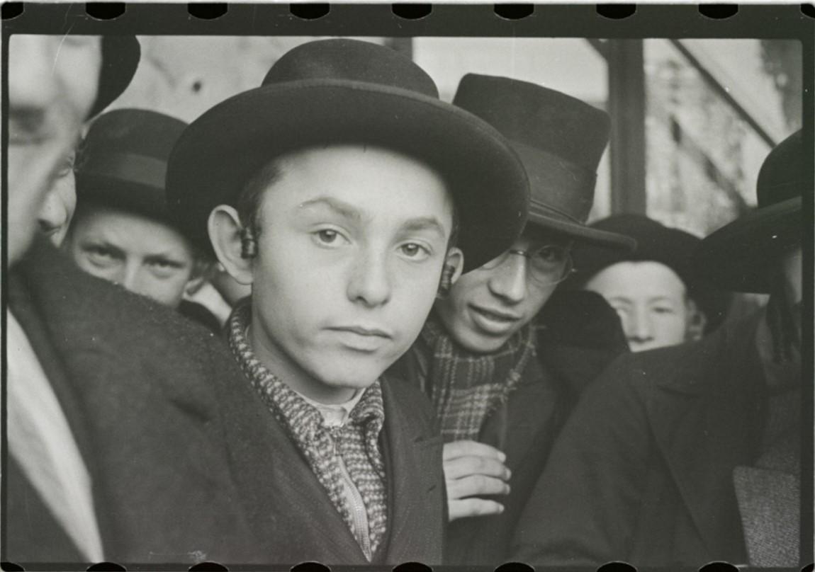 Учащиеся ешивы рабби Баруха Рабиновича