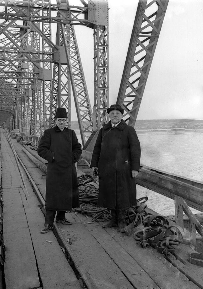 Павел Карпович Хорст и инженер Николай Аполлонович Белелюбский