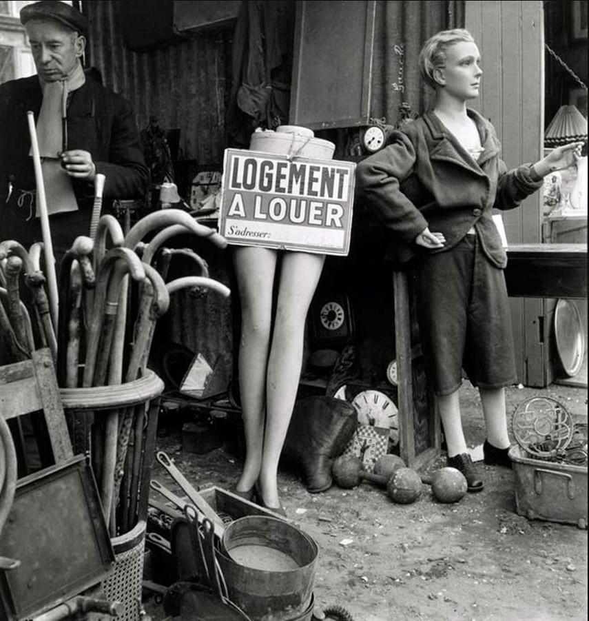 1948. Блошиный рынок, Париж