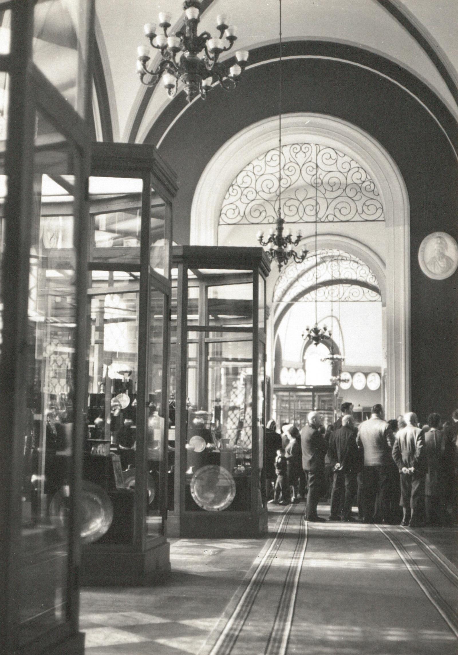 Москва. Кремль. Оружейная палата. 1967