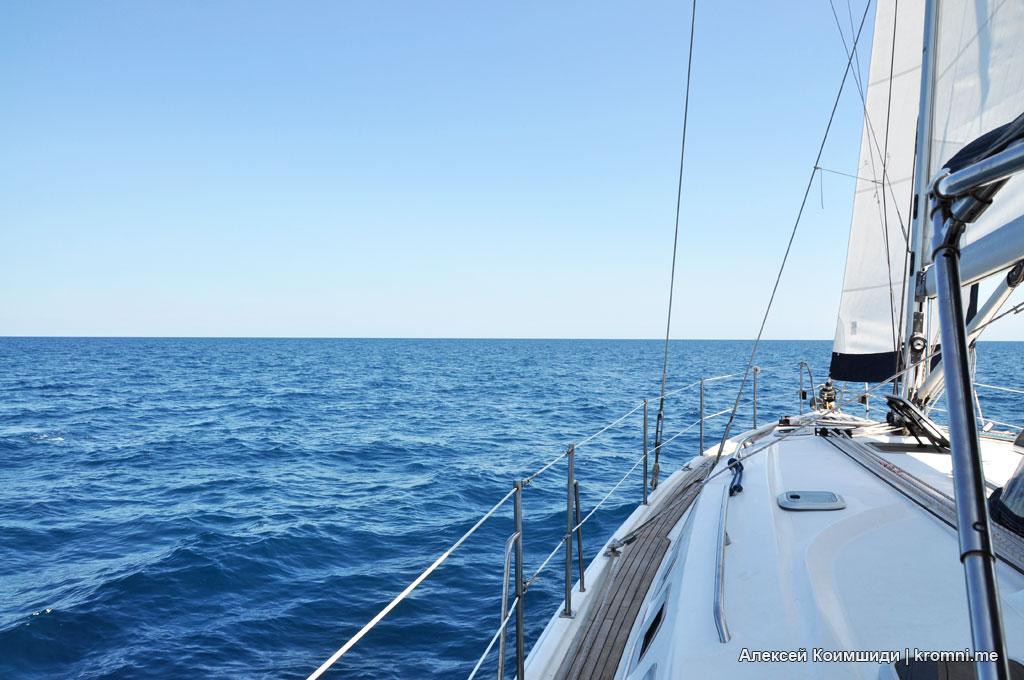 На яхте в Италию. Бриндизи