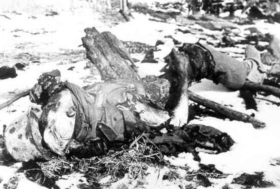 Dead German soldier at Wolchow.jpg