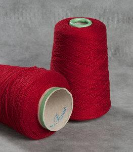 16288-Vintage, кашемир, красный