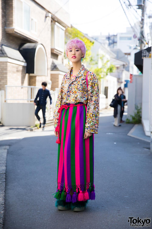 Модные персонажи на улицах Токио (20.06.17)