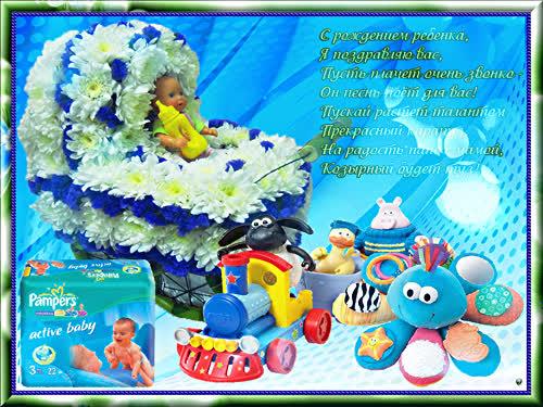 День Рождение Открытки Анимированные