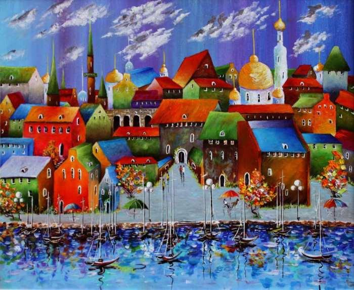Картины Николая Попова
