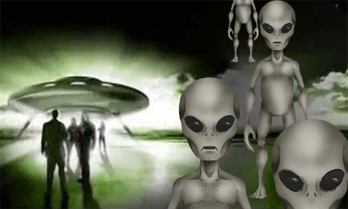 Открытки с Всемирным днём НЛО. Инопланетяне и люди!