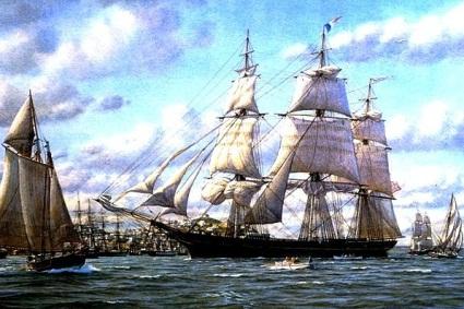 День Черного моря. Корабль
