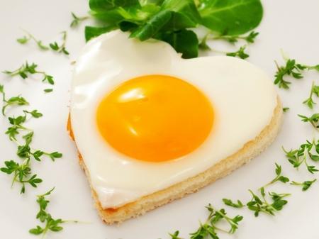 Открытки. Всемирный день яйца. Яичко-яичница