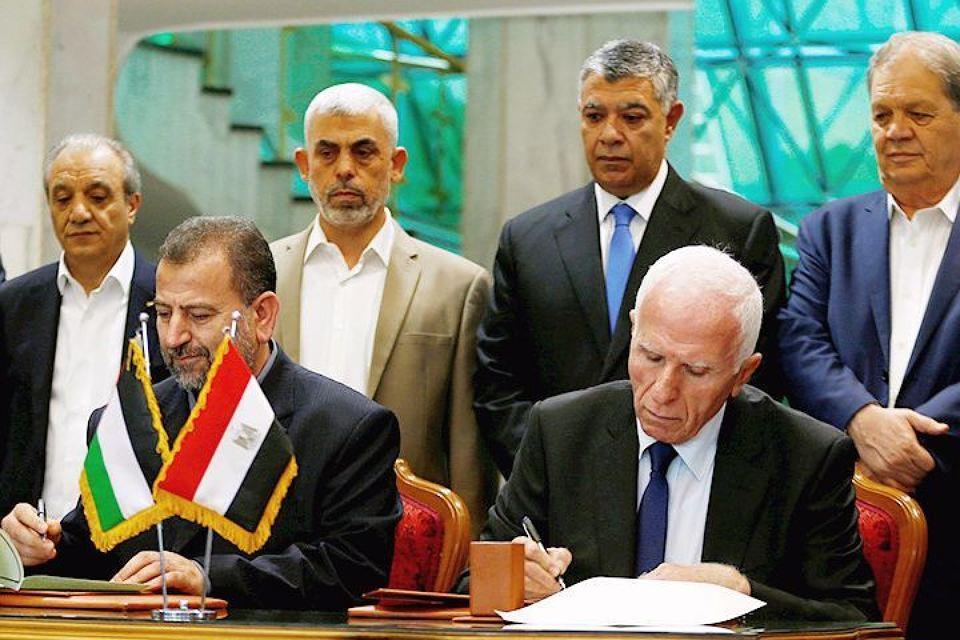 ФАТХ иХАМАС подписали соглашение об окончательном примирении