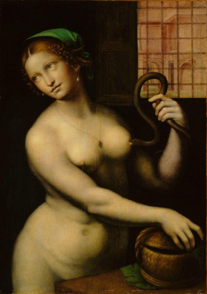 Giampetrino, 1495-1549. Клеопатра. 1520-1540. Оберлин, Музей искусства колледжа.jpg