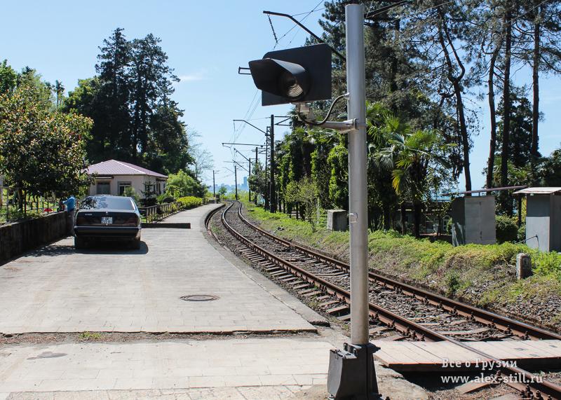 Железная дорога в Батуми