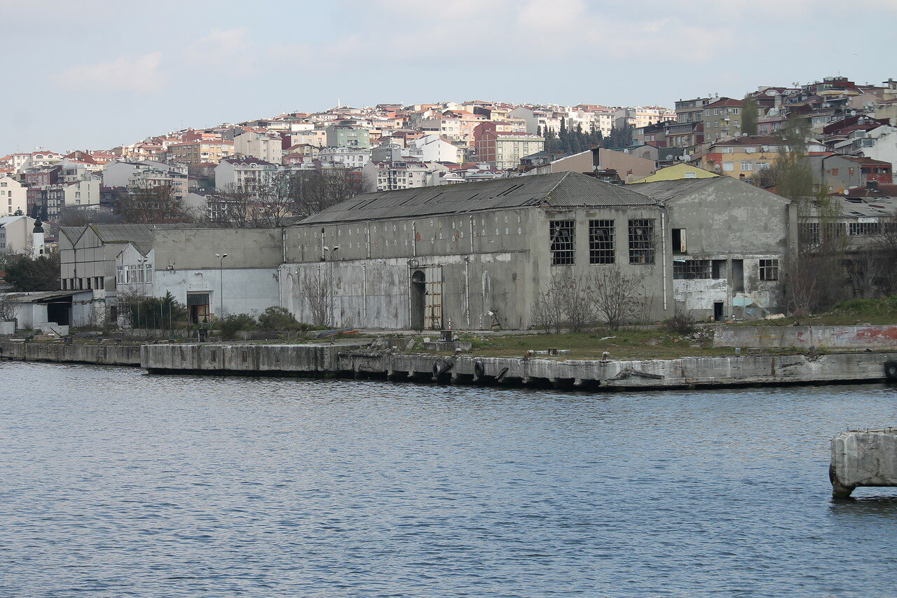 Istanbul. The Haliç Shipyard (Haliç Tersanesi)