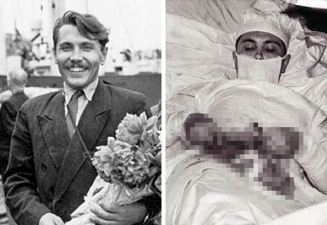 © wikipedia  Леонид Рогозов — молодой советский врач, работавший вАнтарктиде, настанции Нов