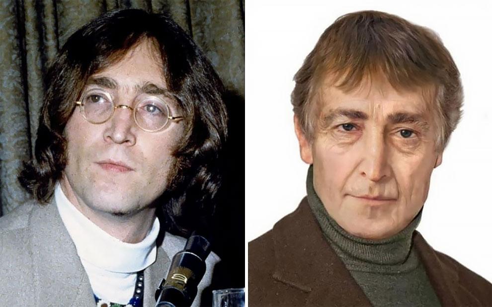 Джон Леннон (9 октября 1940 — 8 декабря 1980), один из основателей легендарной группы The Beatles и