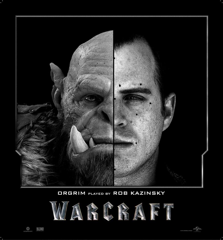 Актеры фильма Warcraft в образе и без него (9 фото)
