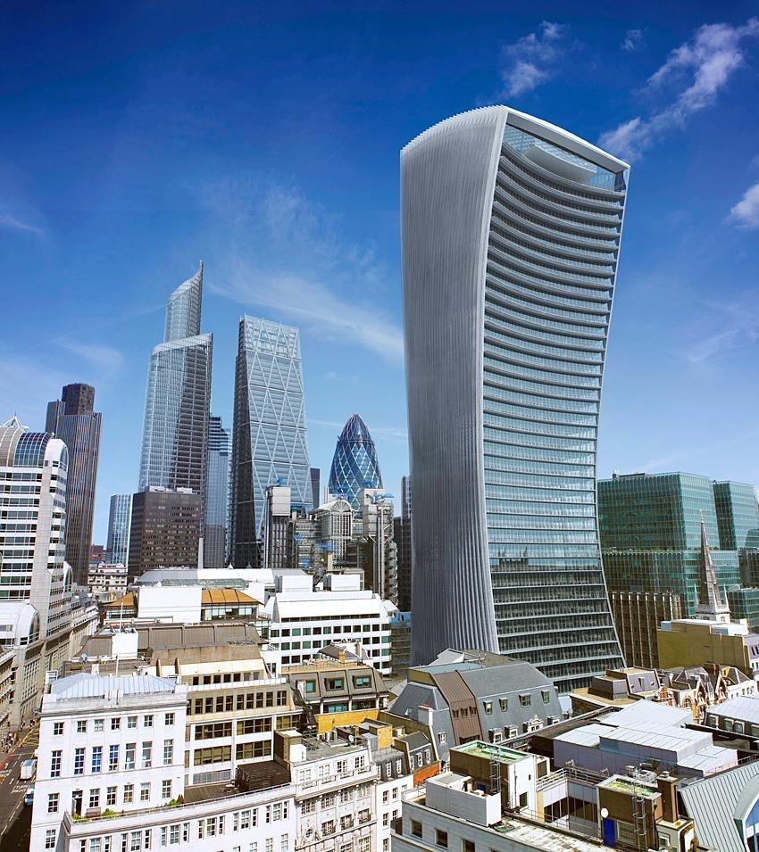 Walkie Talkie для Дарта Вейдера: изогнутый лондонский небоскреб жарит не хуже Звезды Смерти (5 фото)