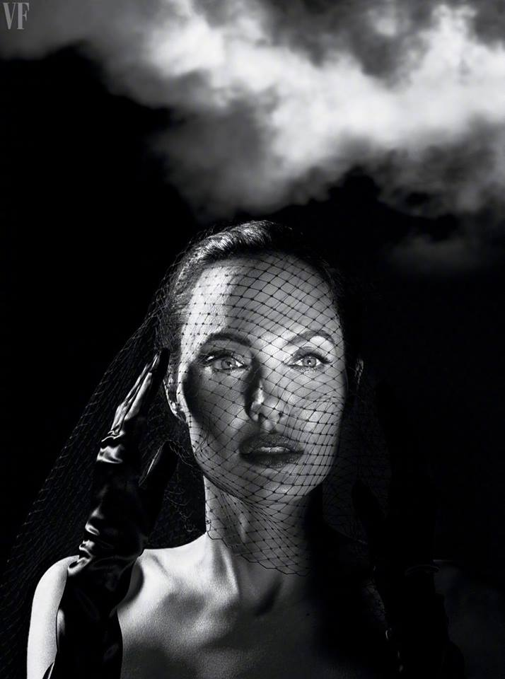 Анжелина Джоли для Vanity Fair September 2017