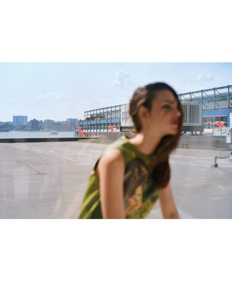 Виттория Черетти на двух обложках корейского Vogue