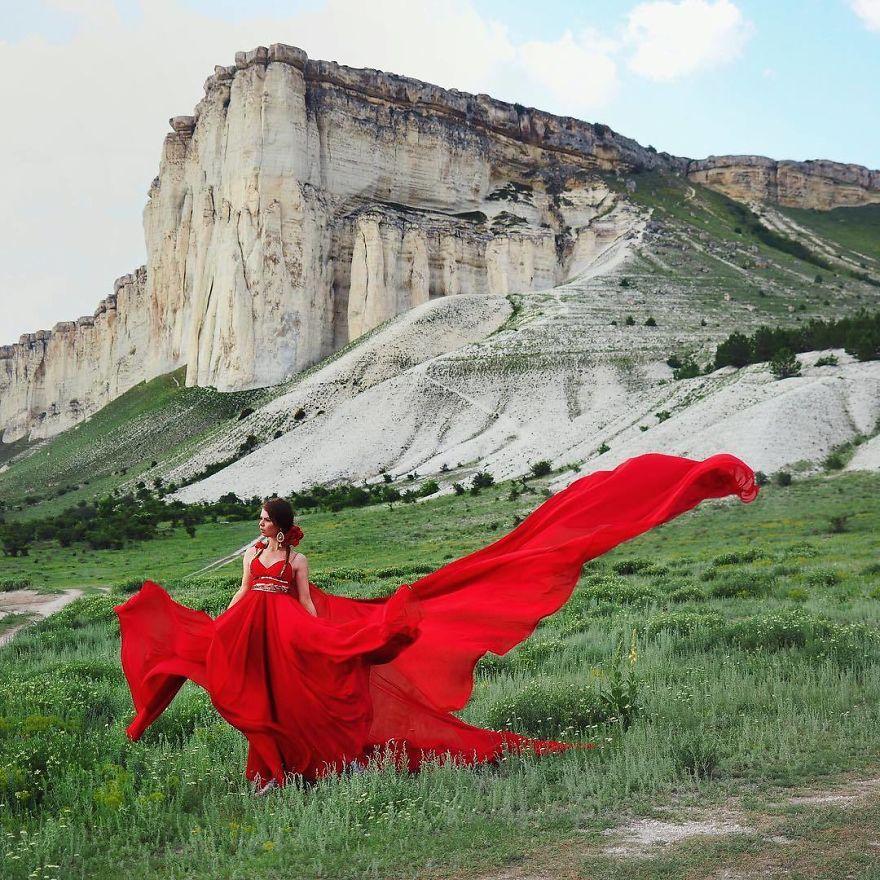Белая скала, Крым.