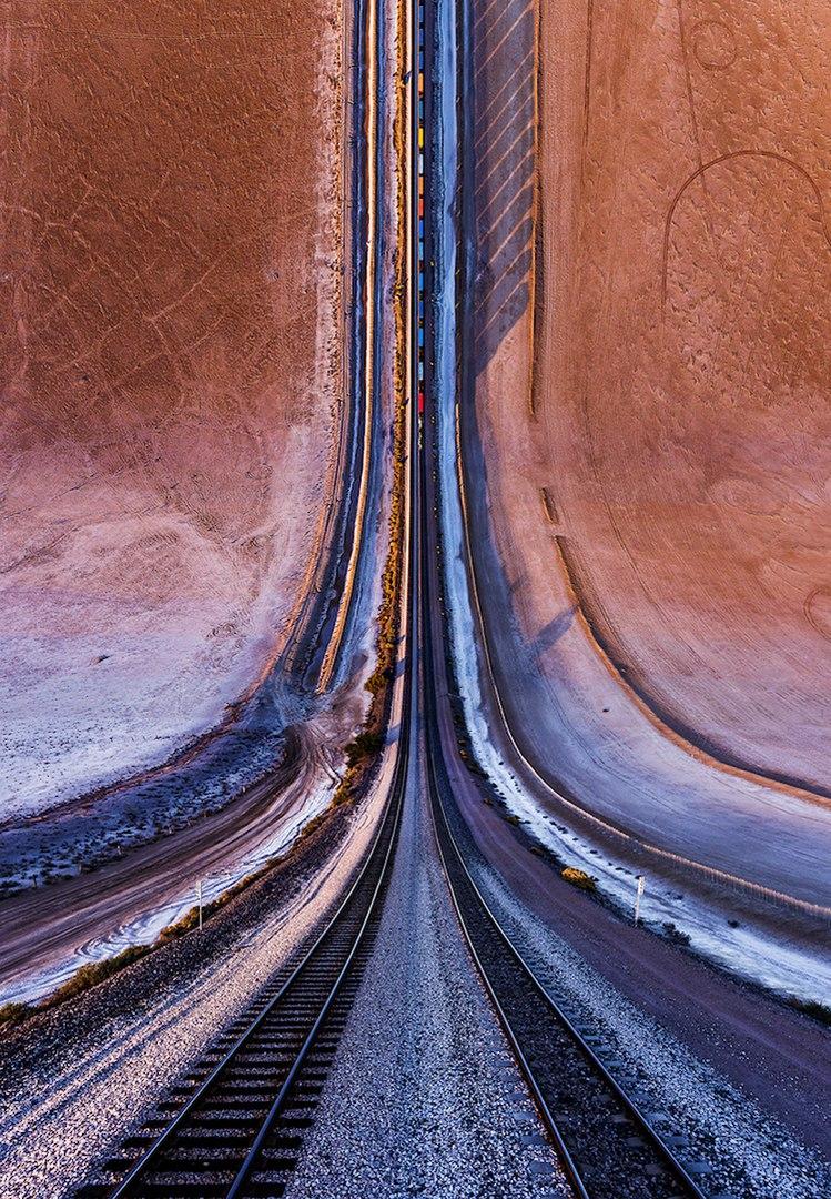 Теxас с высоты. Фотограф Aydin Buyuktas