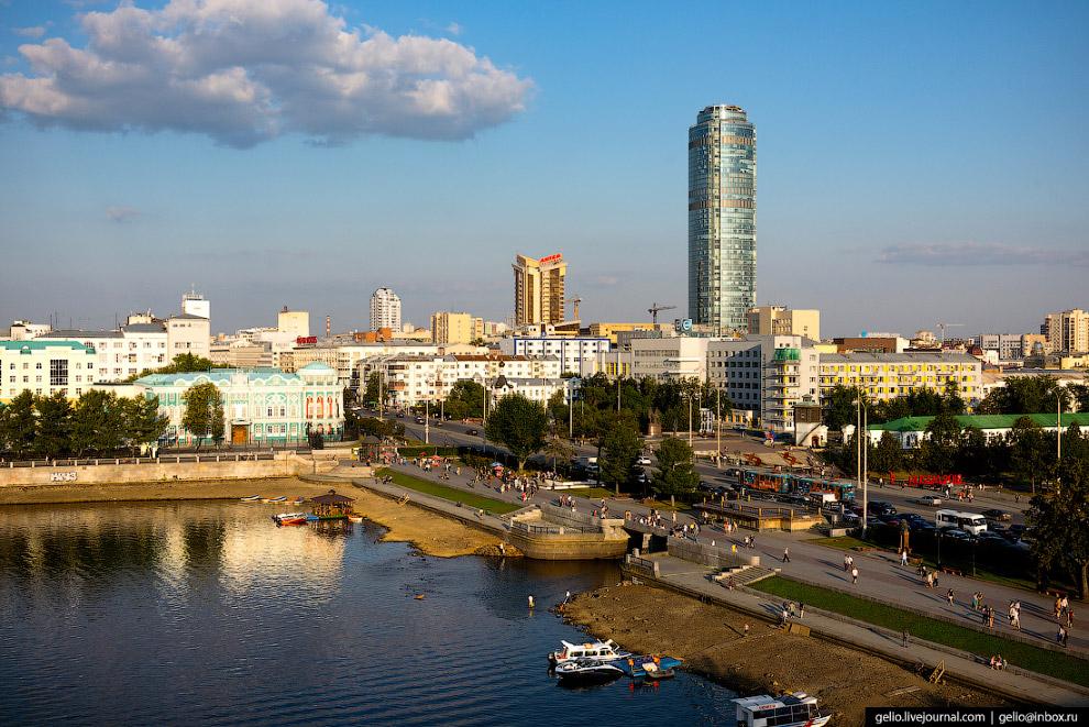 37.  Проспект Ленина — главная улица Екатеринбурга . Прошпективная улица и дорога, до