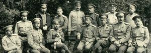 Офицеры штаба 7-й Армии 1916 г