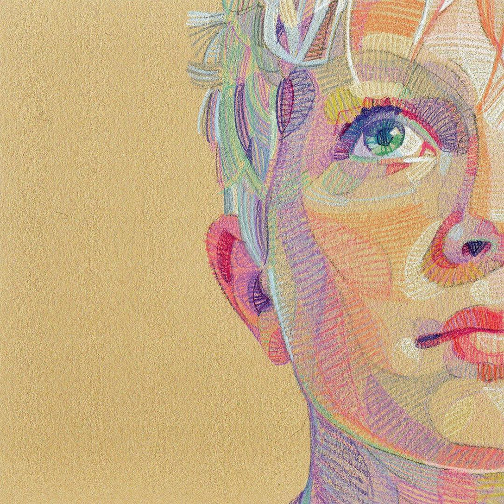 Prismatic Portraits by Lui Ferreyra Form a Collision of Geometry and Color