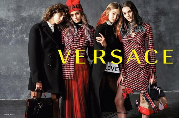 FIRST LOOK: Versace Fall Winter 2017.18 by Bruce Weber