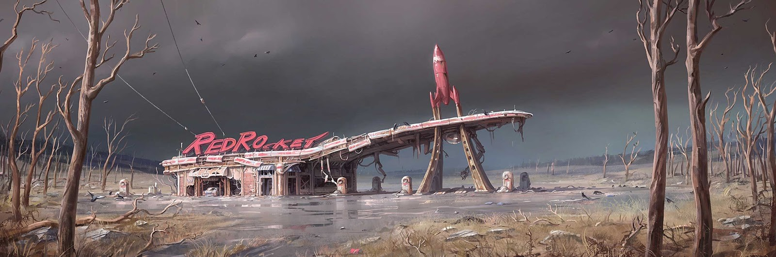 Fallout 4 Concept Art by Ilya Nazarov (18 pics)