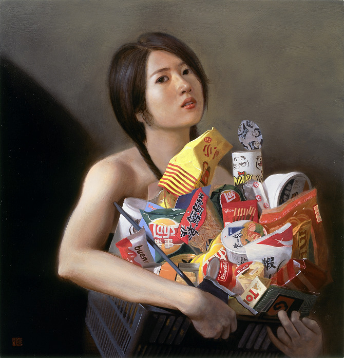 Wonderful Oil Paintings by Lee Chen Dao