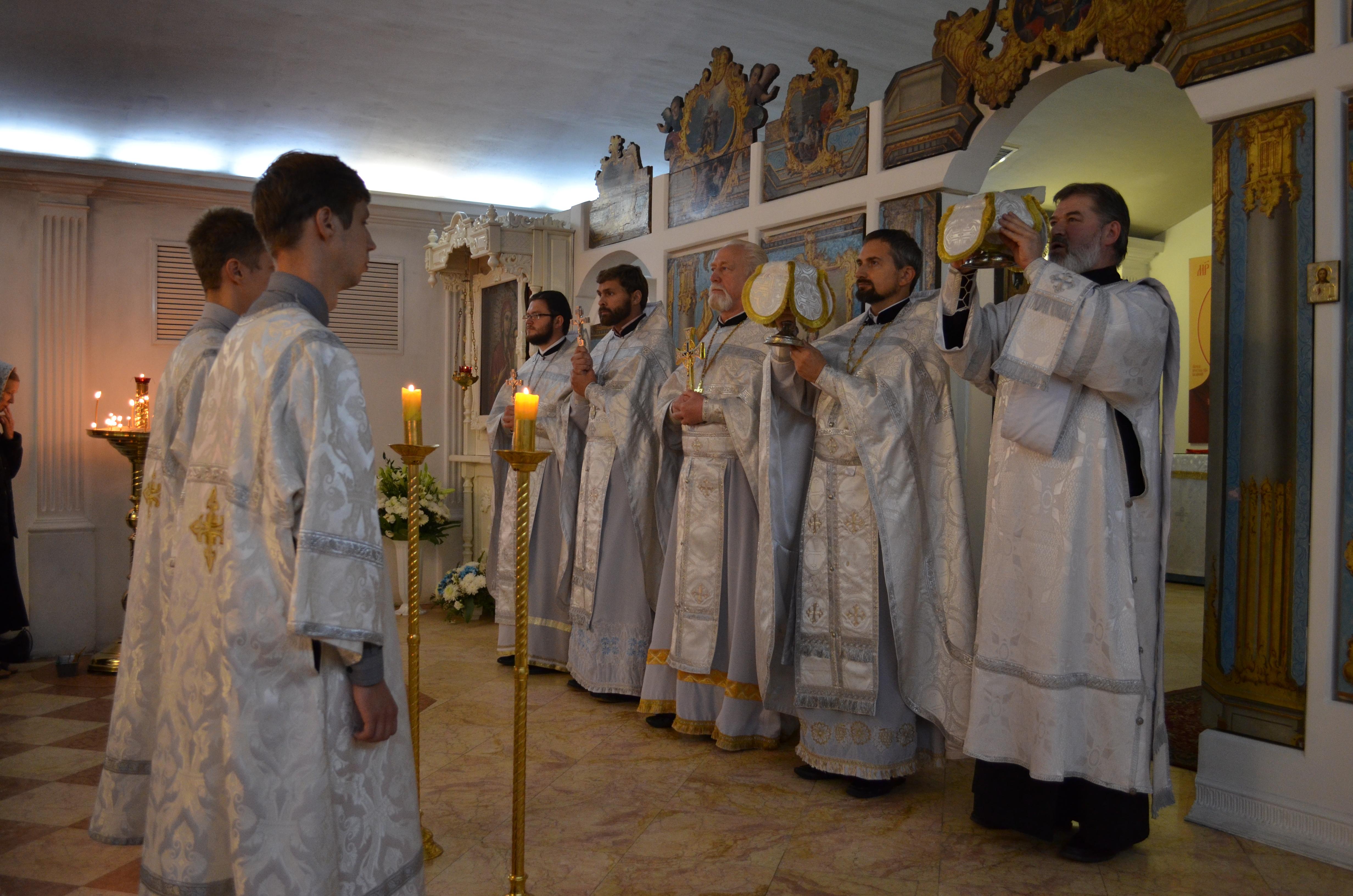 В Кафедральном соборе отметили престольный праздник Нижнего храма