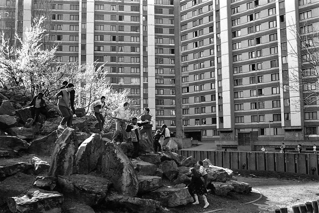 1987. Квартал Франк-Мосин района Сен-Дени