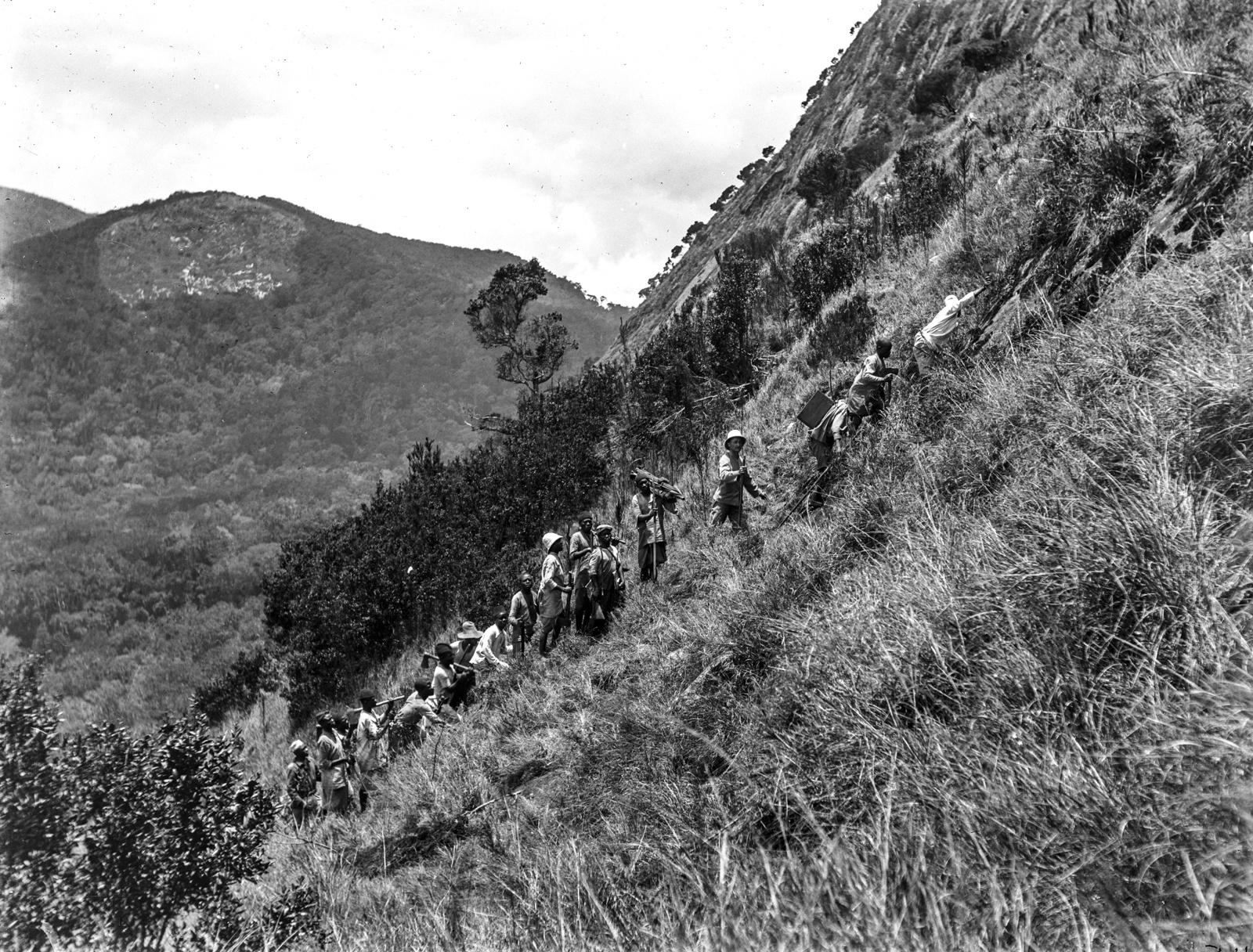 44. Подъем экспедиции к Магамбе