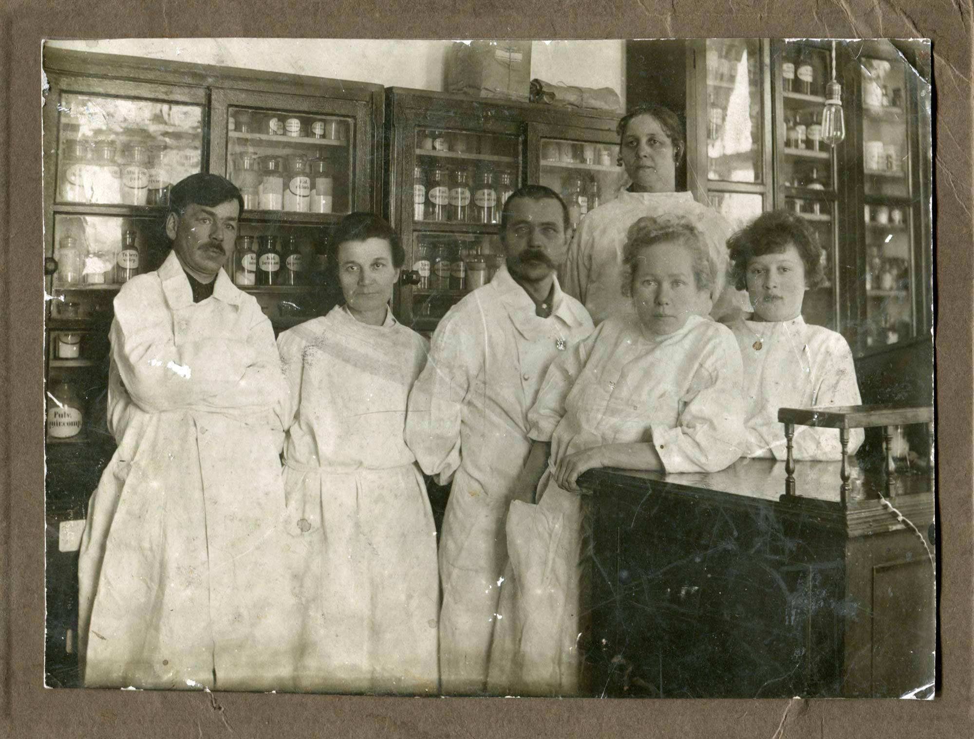 1938. Станция Балезино Пермской железной дороги. 27й врачебный участок