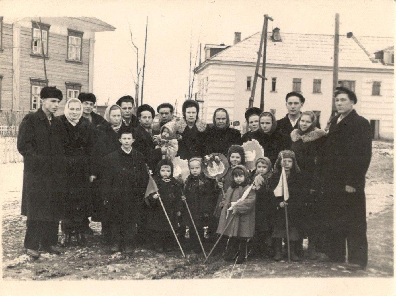 1960-е. Микрорайон Загарье