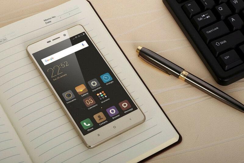 Телефон Xiaomi Redmi 3s. фото с сайта производителя
