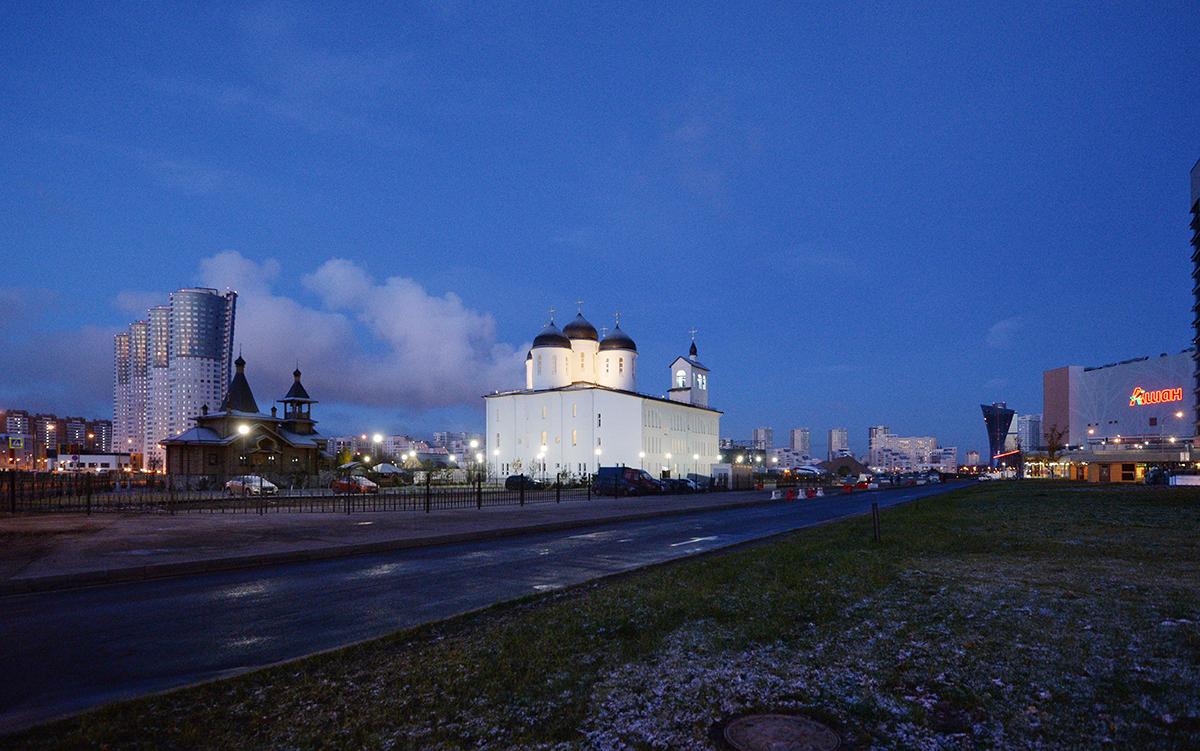 Храм преподобного Сергия Радонежского на Ходынском поле(2)
