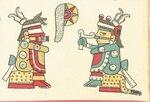 Красный Тескатлипока-Ишкимилли и синий Тескатлипока..jpg