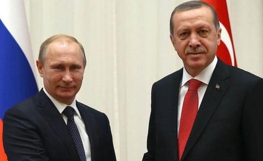 Путин и Эрдоган обсудят в Сочи сотрудничество в Сирии и двусторонние отношения