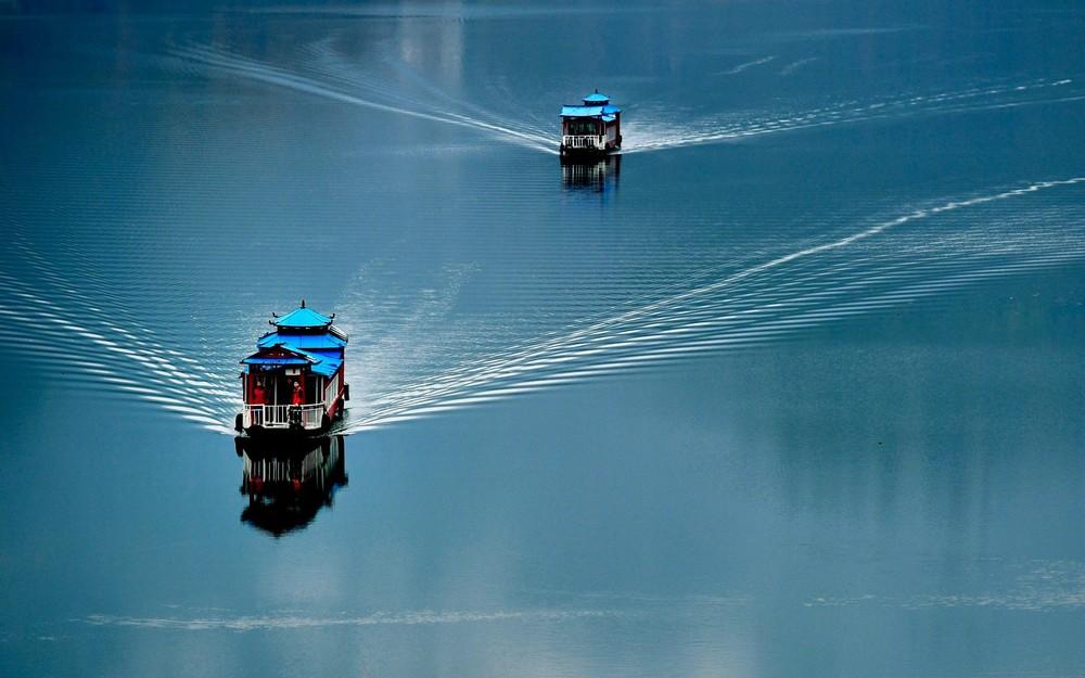 Интересные кадры из Китая