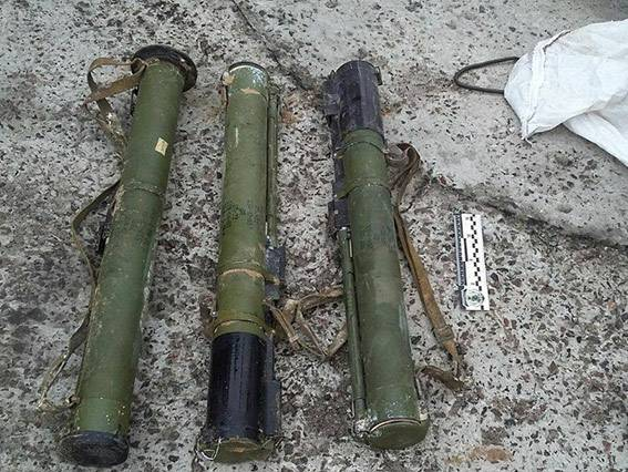 Житель Херсонщины нашел в лесу мешок с гранатометами, - Нацполиция. ФОТО