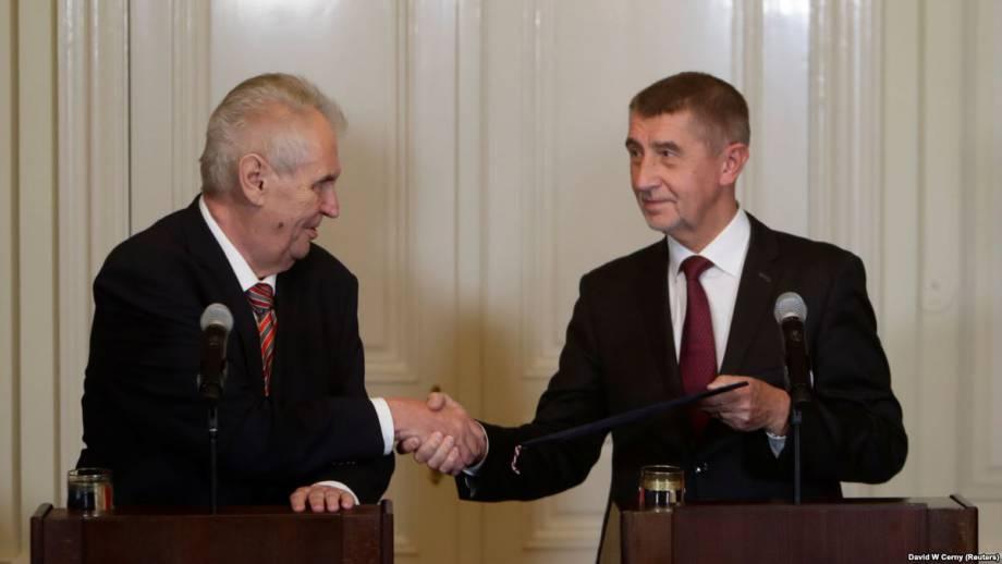 Правительство Чехии возглавил миллиардер Андрей Бабіш