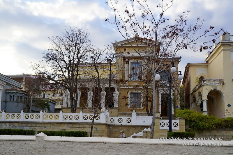 Дача Милос, Феодосия