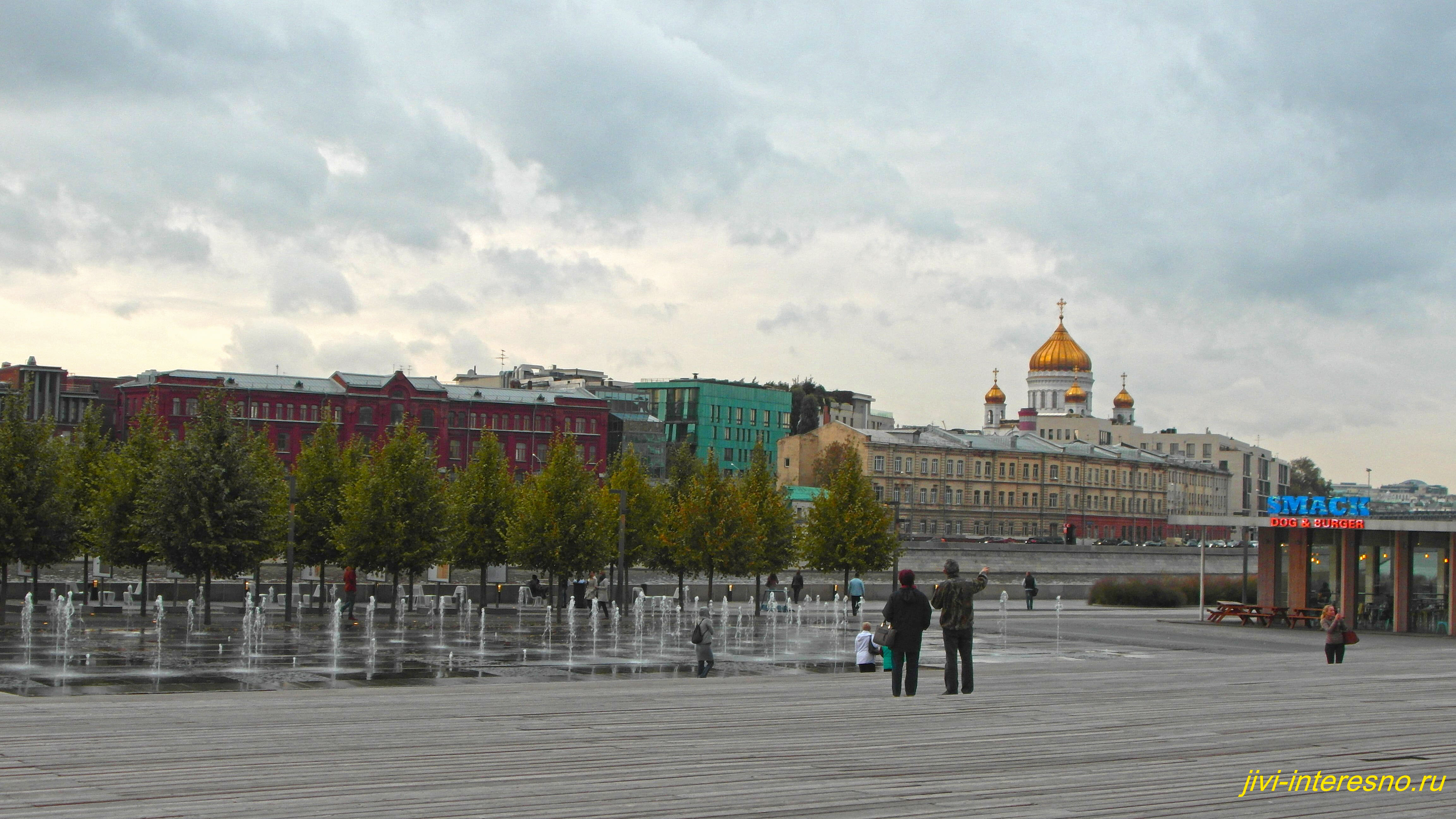 Интересные места в Москве - парк  Музеон